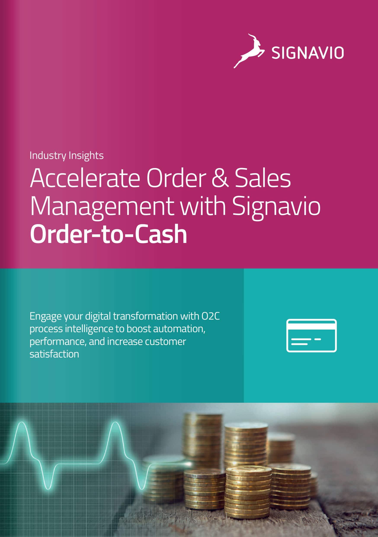 Signavio Order-to-cash brochure image