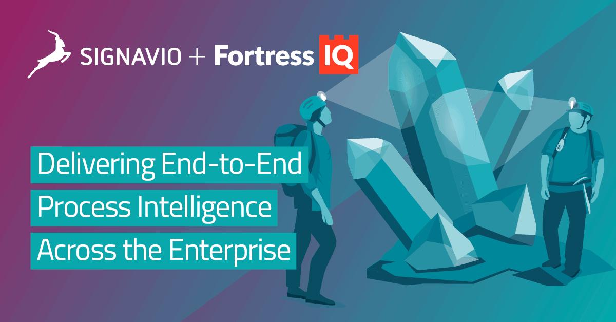 Signavio and Fortress IQ annouce partnership