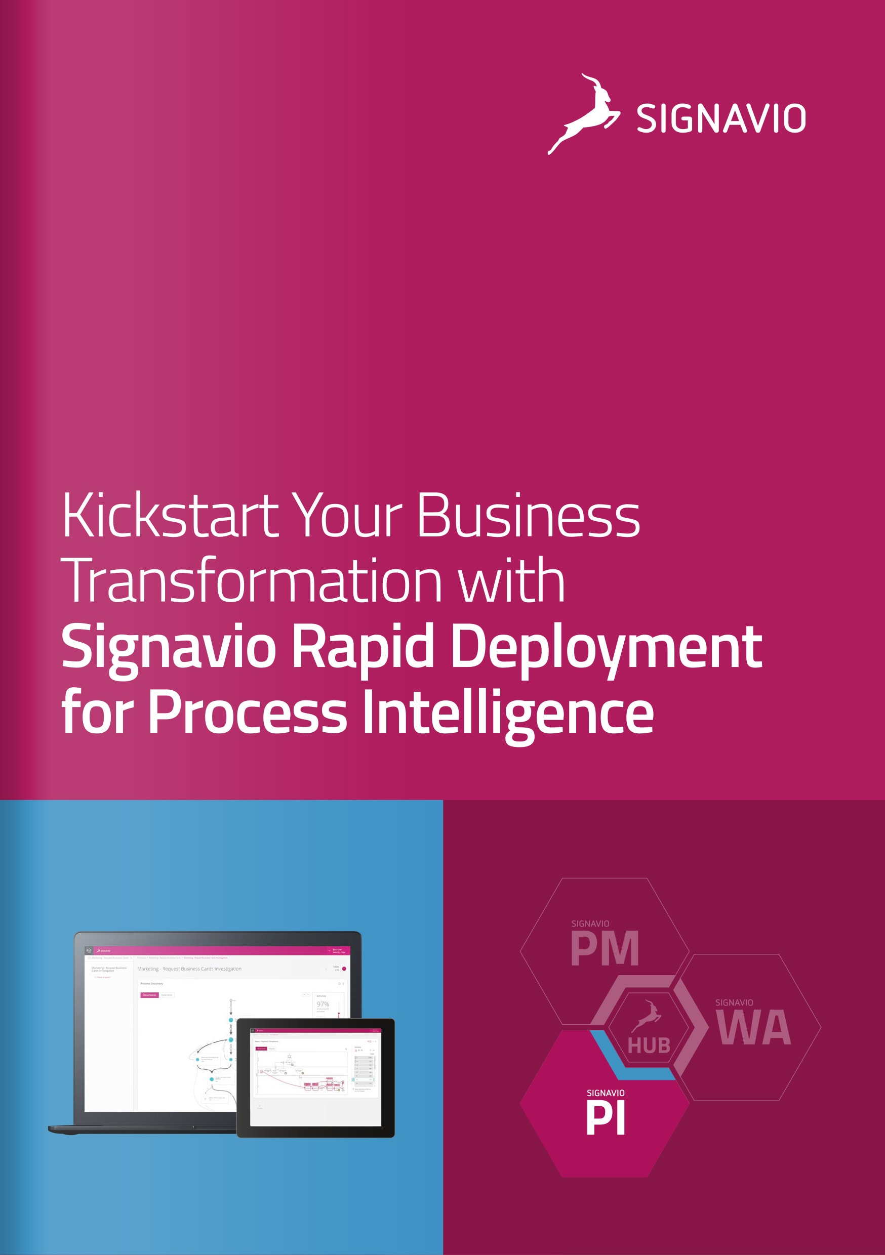 Signavio Rapid Deployment for Process Intelligence - Cover Image
