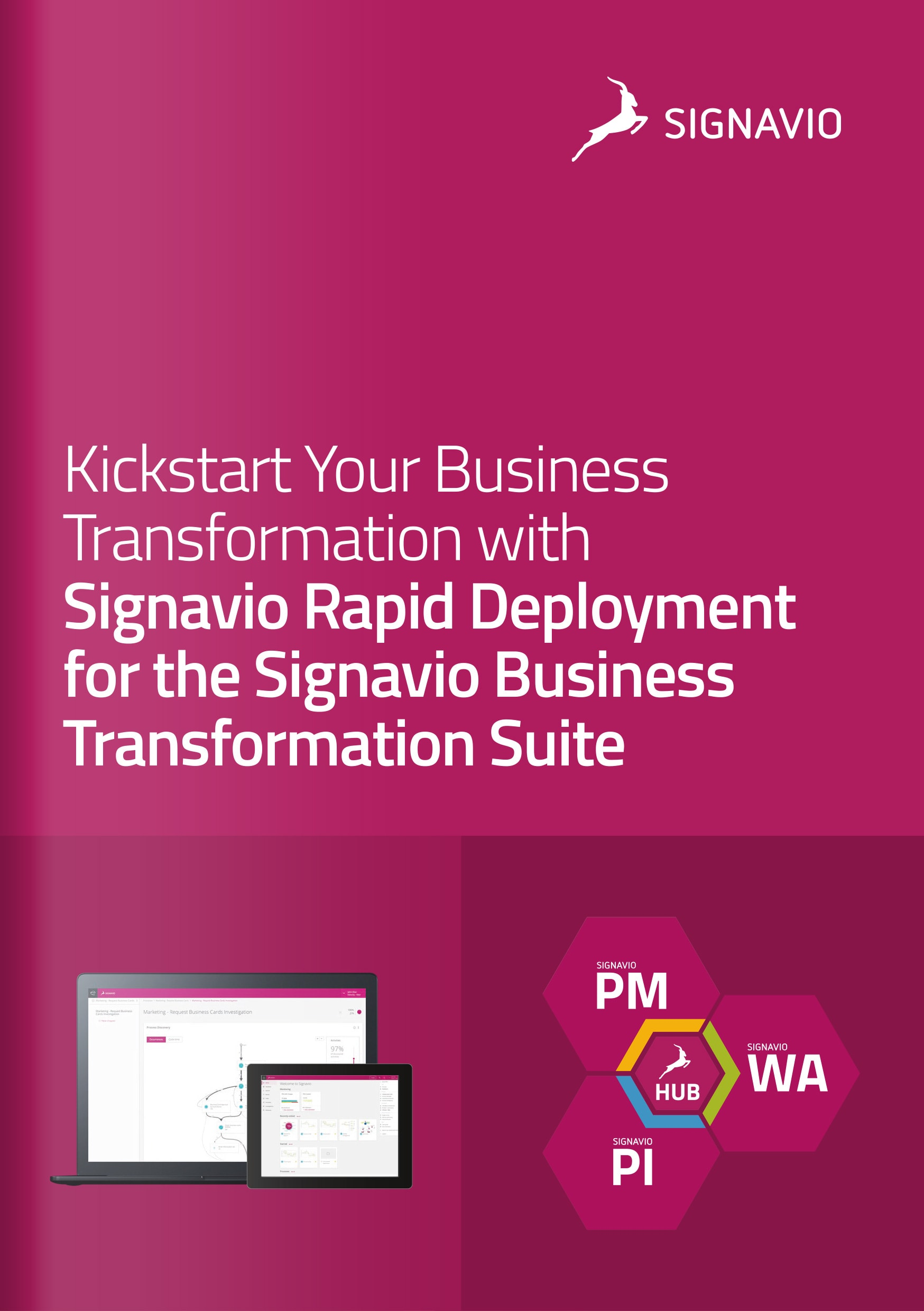 Signavio Rapid Deployment for the Signavio Business Transformation Suite- Cover Image