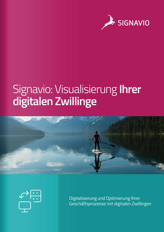 digitaler Zwilling_Signavio-Broschüre_Titelbild