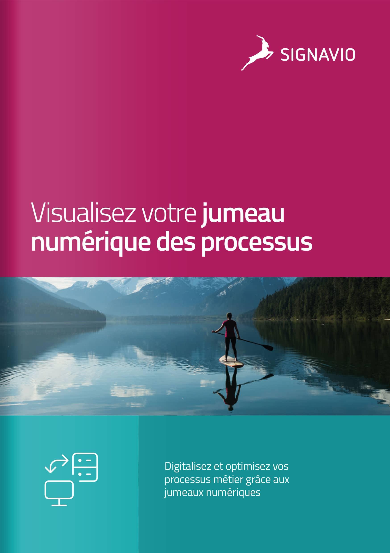 Visualisez votre jumeau numérique des processus image de couverture lac