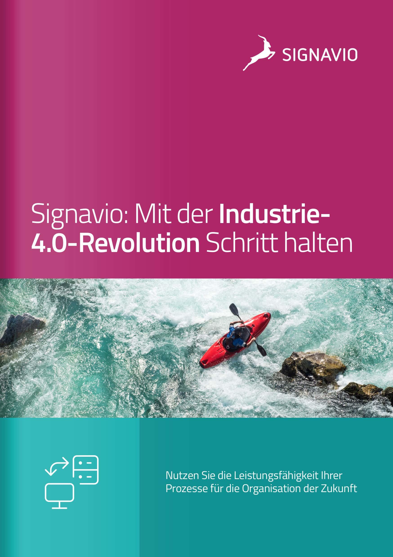 Industrie-4.0-Prozesse_Signavio-Broschüre_Titelbild