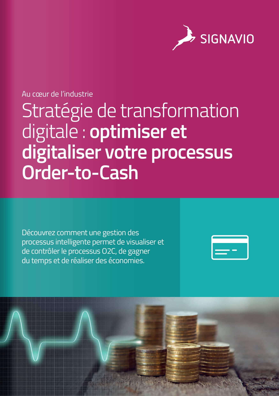 Stratégie de transformation digitale : optimiser et digitaliser votre processus Order-to-Cash couverture