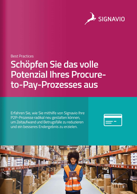 Signavio P2P-Broschüre-One Pager_Titelbild