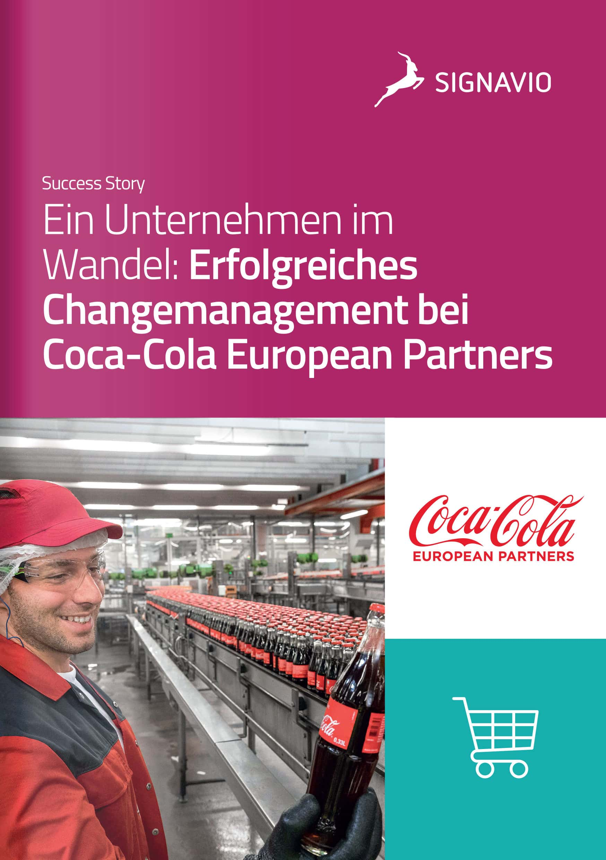 Coca-Colca European Partners_Signavio Success Story_Titelbild