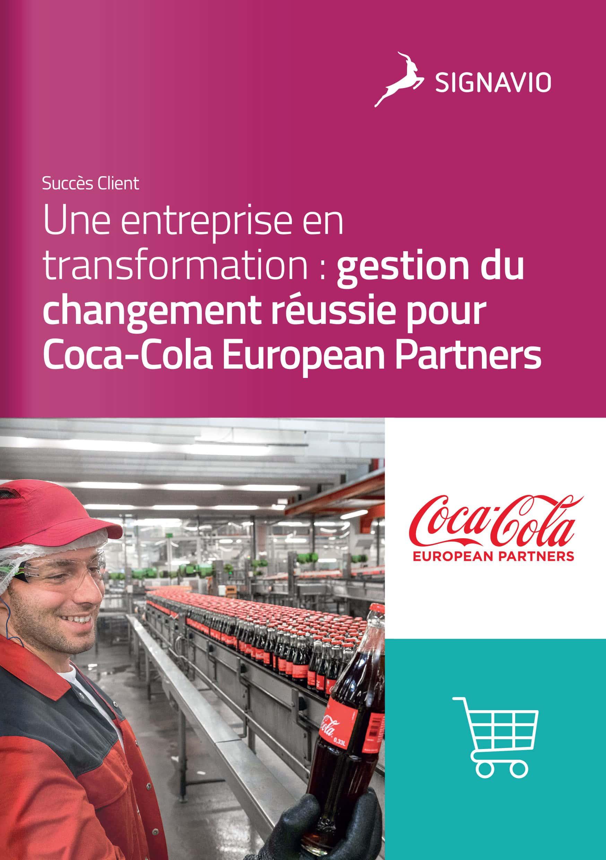 Coca-cola european partners image couverture succès client