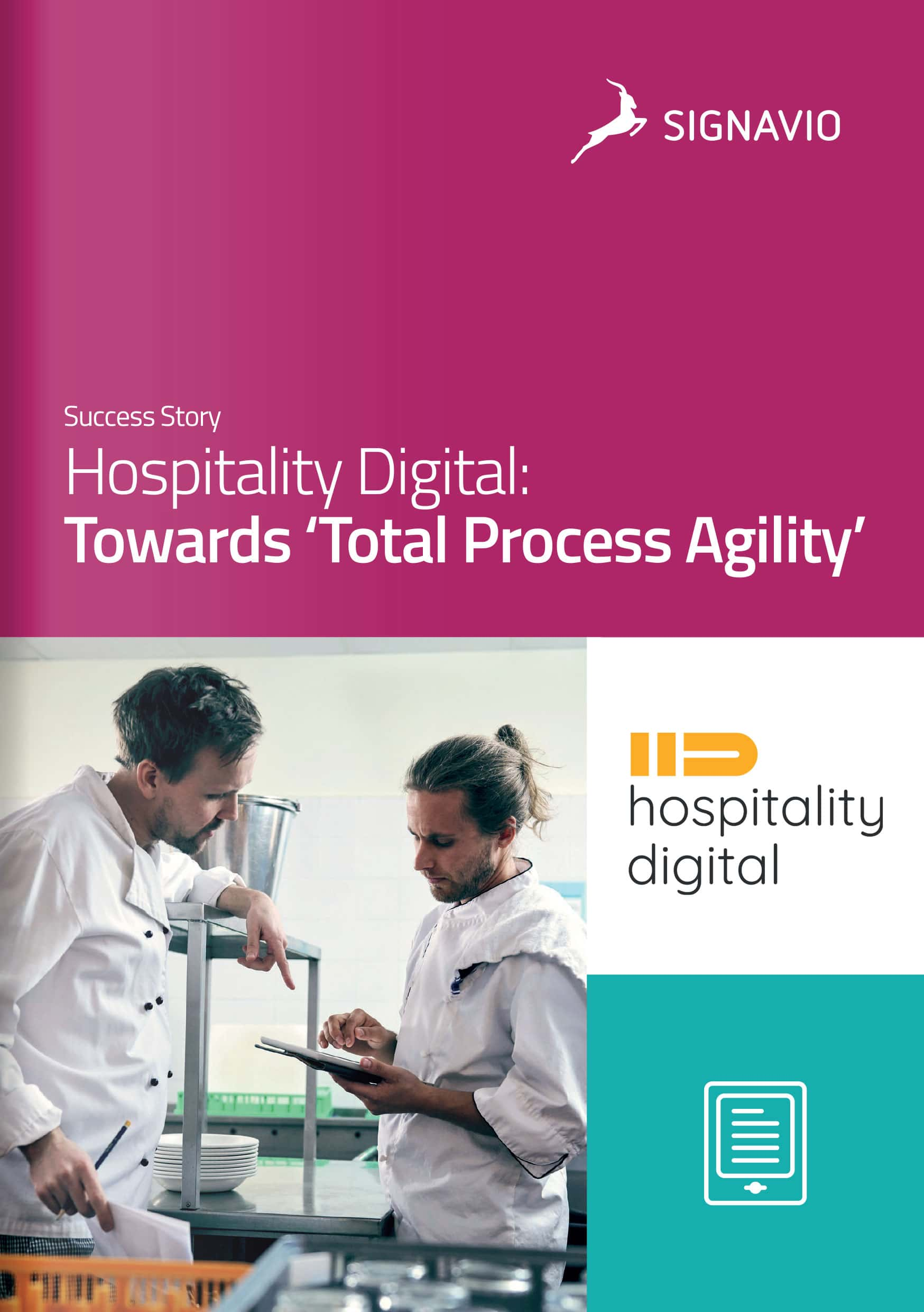 Hospitality Digital customer story front cover