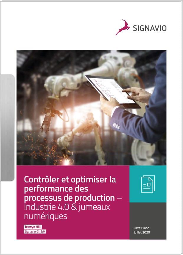 Contrôler et optimiser la performance des processus de production image de couverture robot