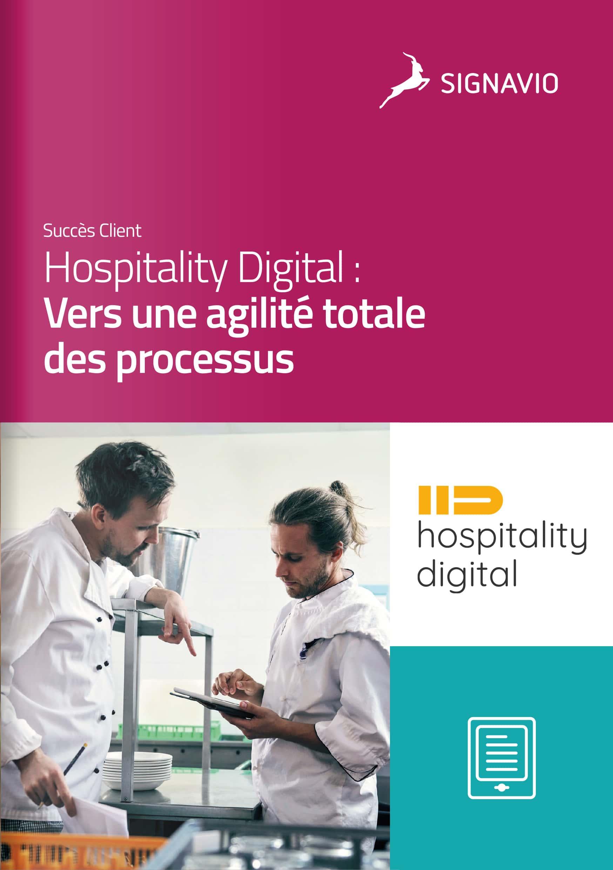 Hospitality Digital : Vers une agilité totale des processus équipe image de couverture