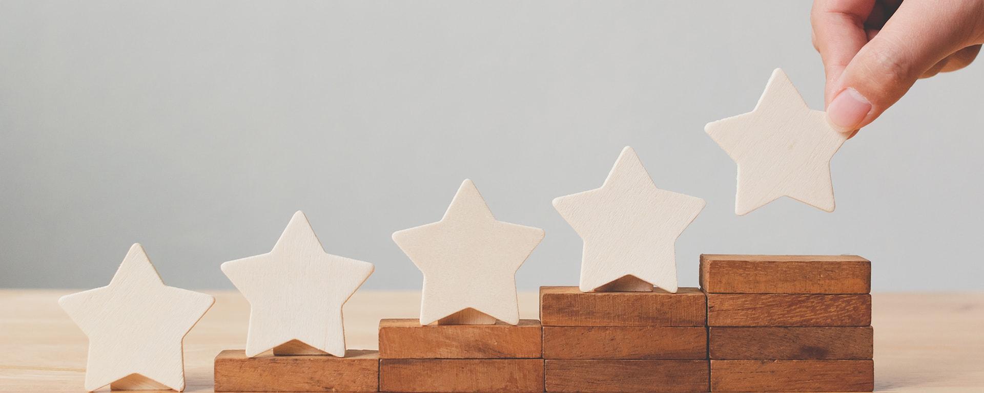 expérience client 5 étoiles