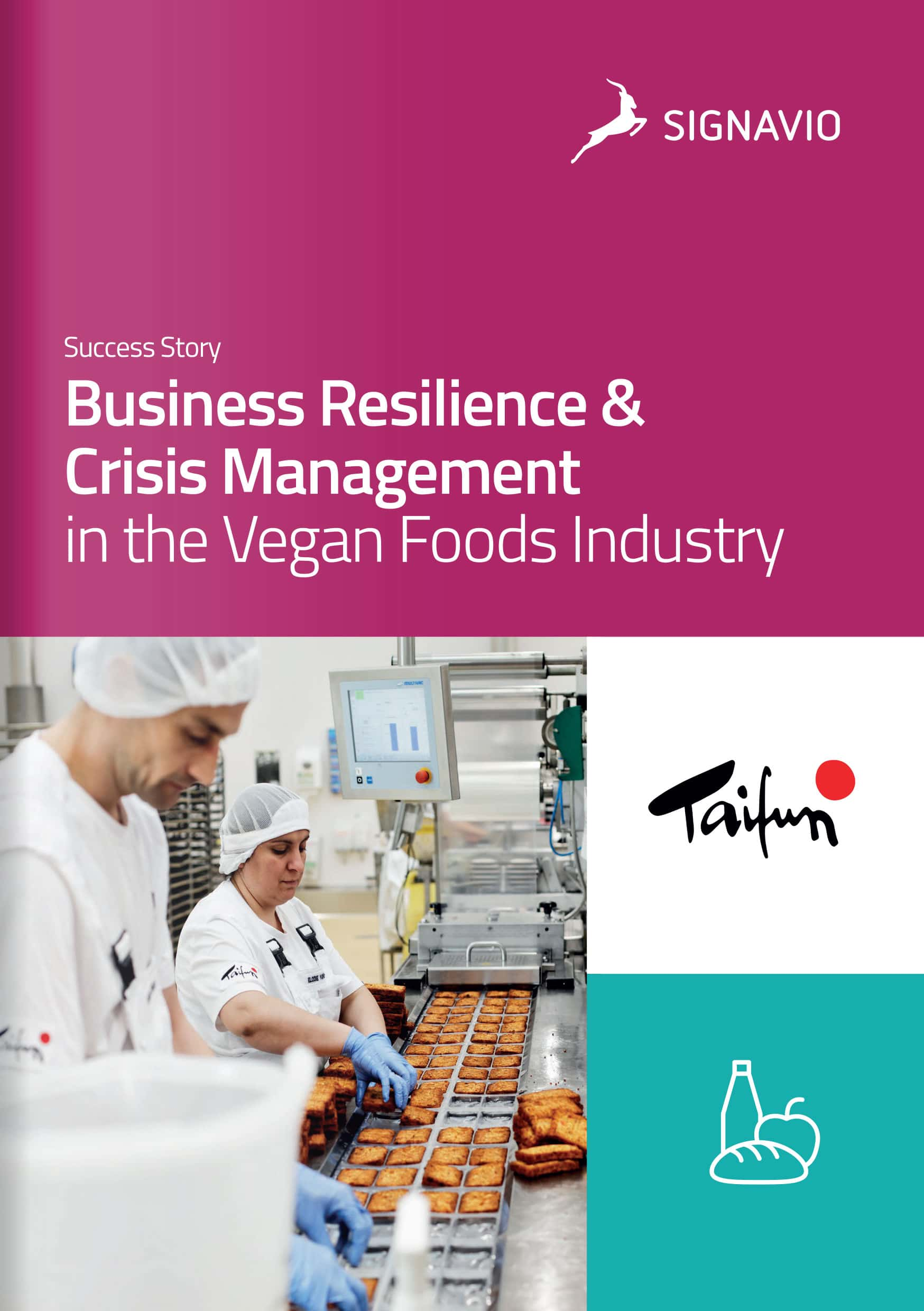 Business Resilience & Crisis Management in the Vegan Foods Industry front cover image