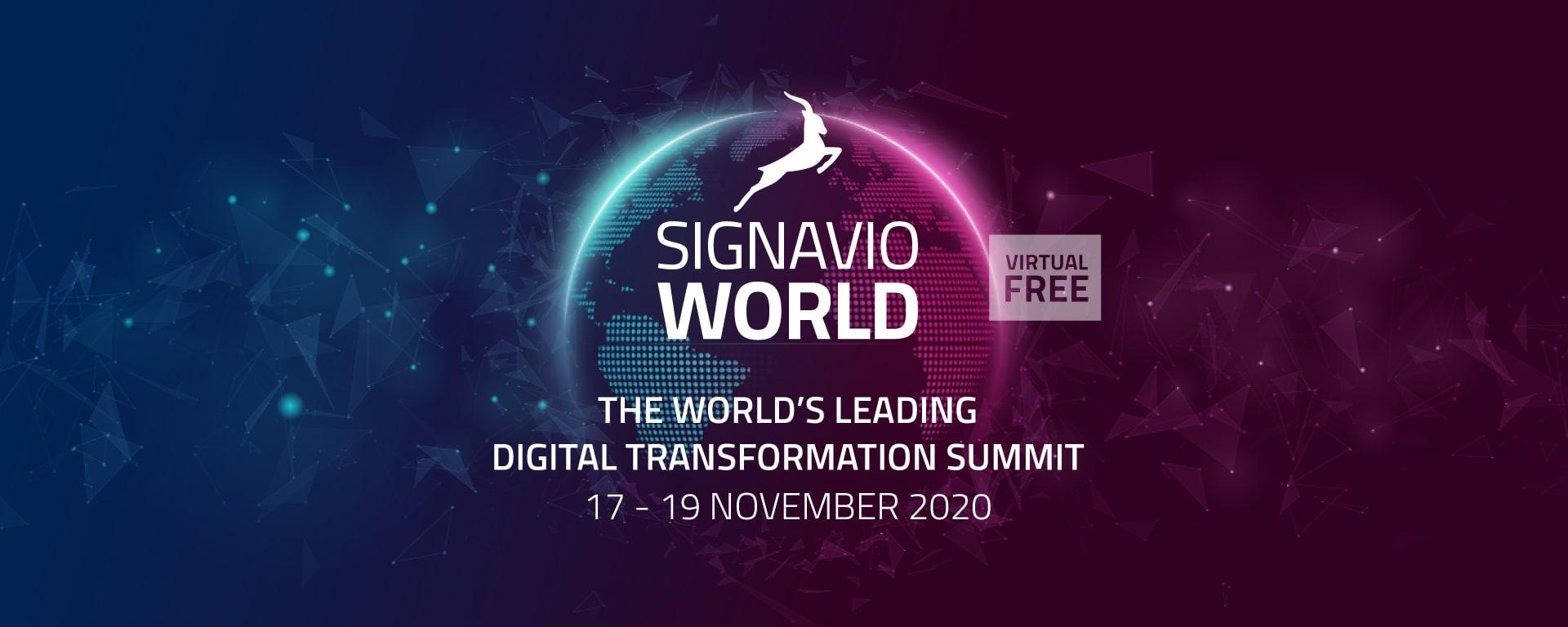 Signavio World 2020 Blog Titelbild