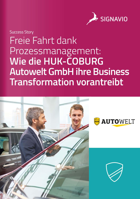 Titelbild Success Story HUK-COBURG Autowelt auf Deutsch