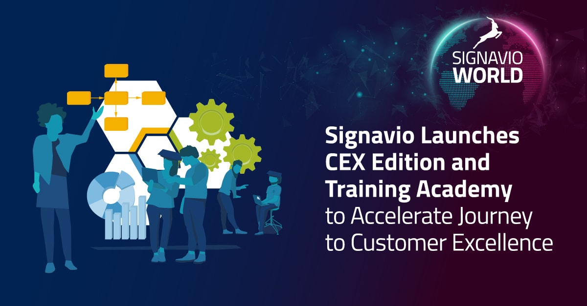 Signavio CEX edition release banner - press release