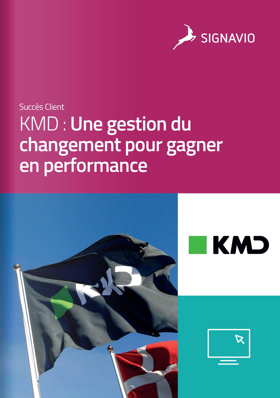 KMD : Une gestion du changement pour gagner en performance couverture