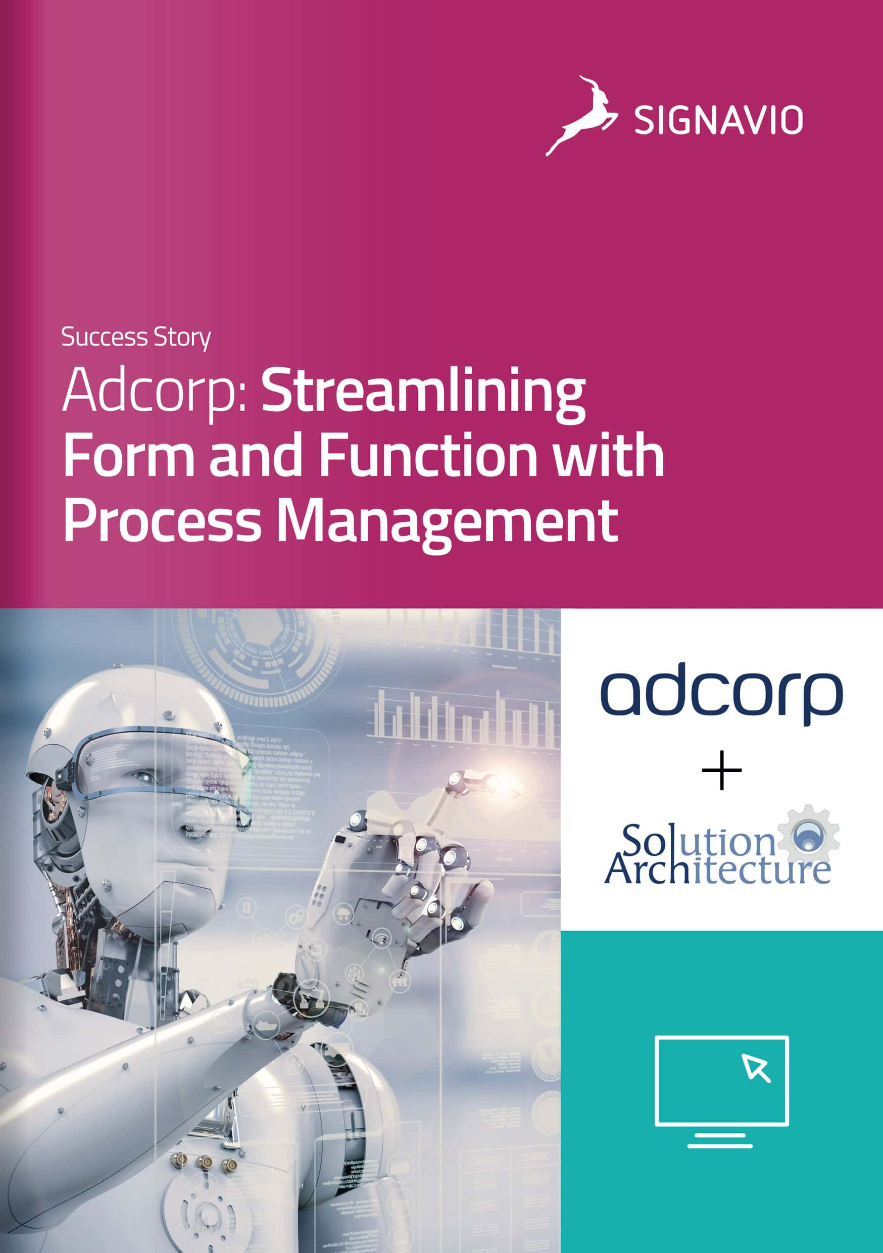 Adcorp Customer Success Story front cover