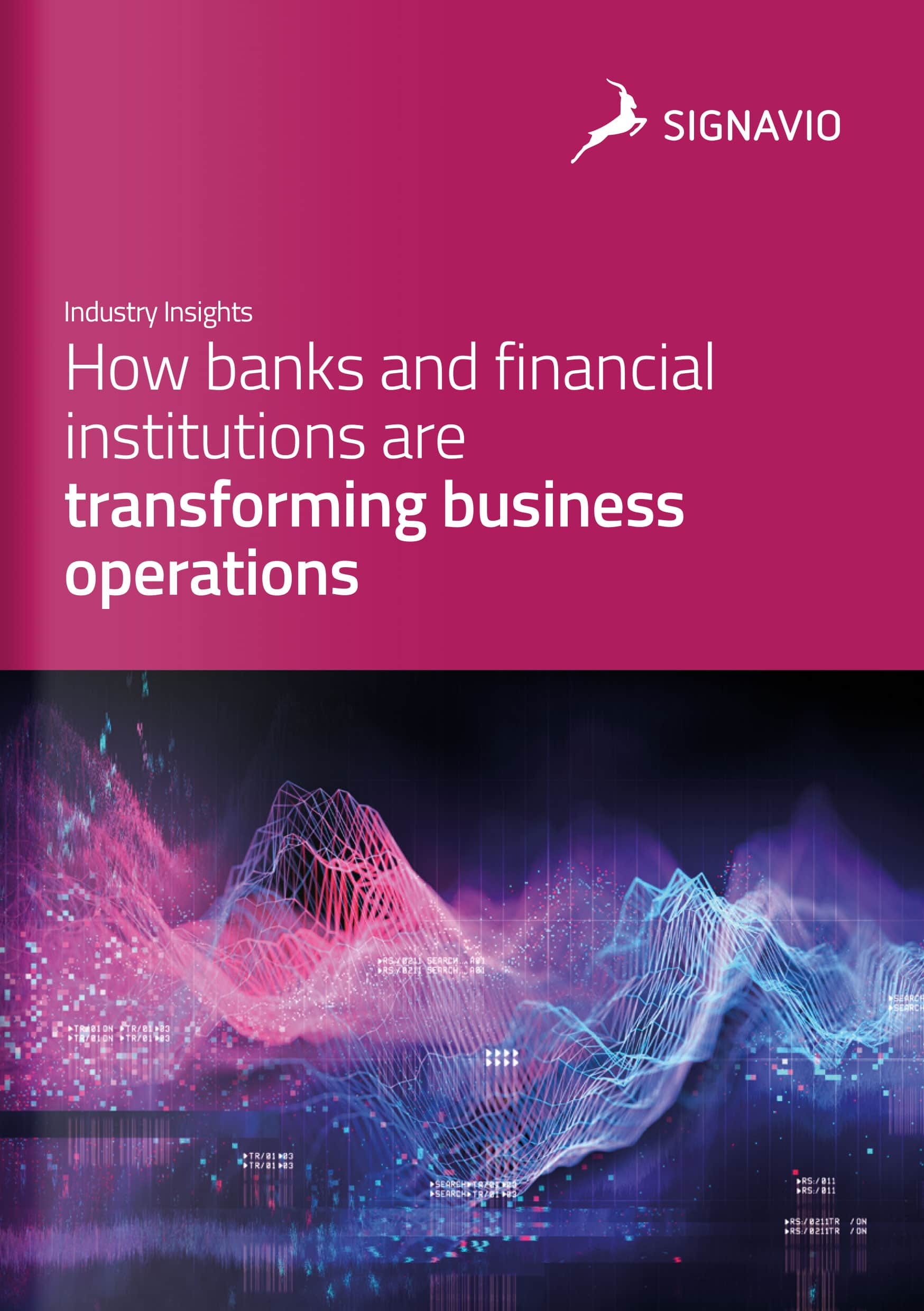 how banks and financial institutions are transforming business operations cover image