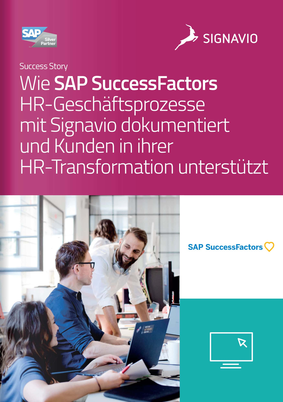 SAP SuccessFactors Success Story Titelbild
