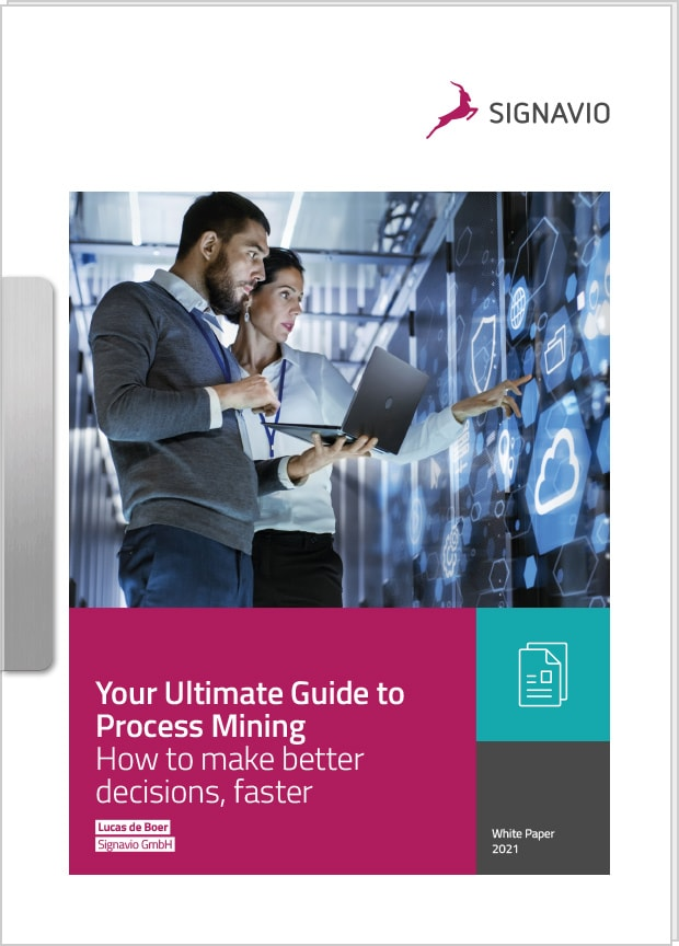 front cover image ultimate guide to process mining