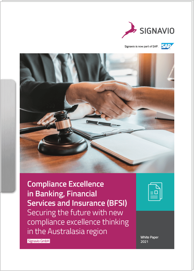compliance excellence BFSI front cover image