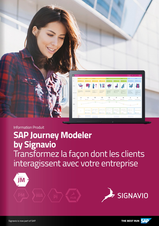 SAP Signavio Journey Modeler