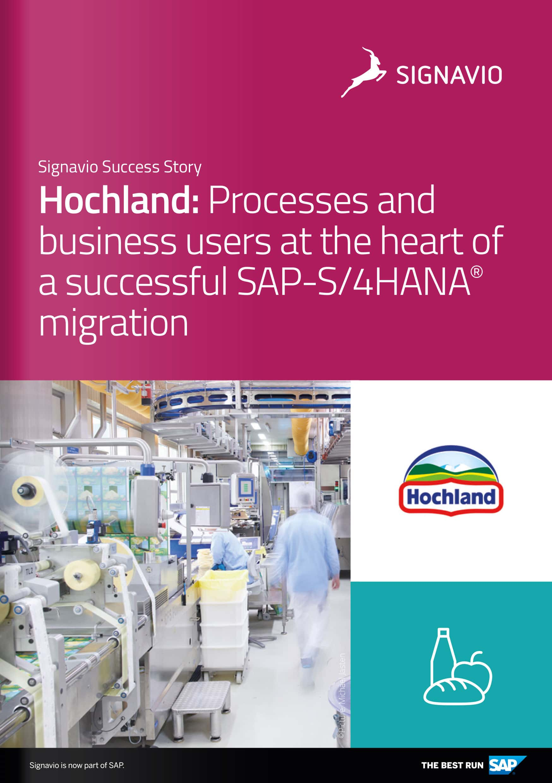 Customer Success Story Hochland