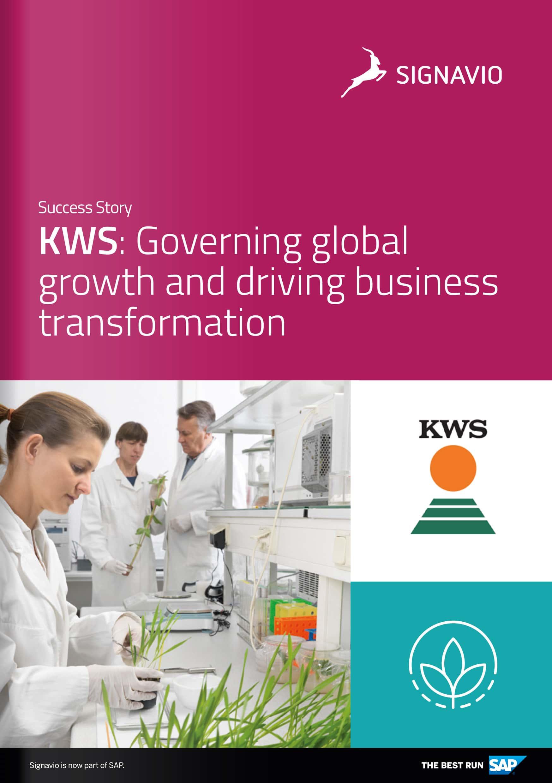 KWS Customer Success Story